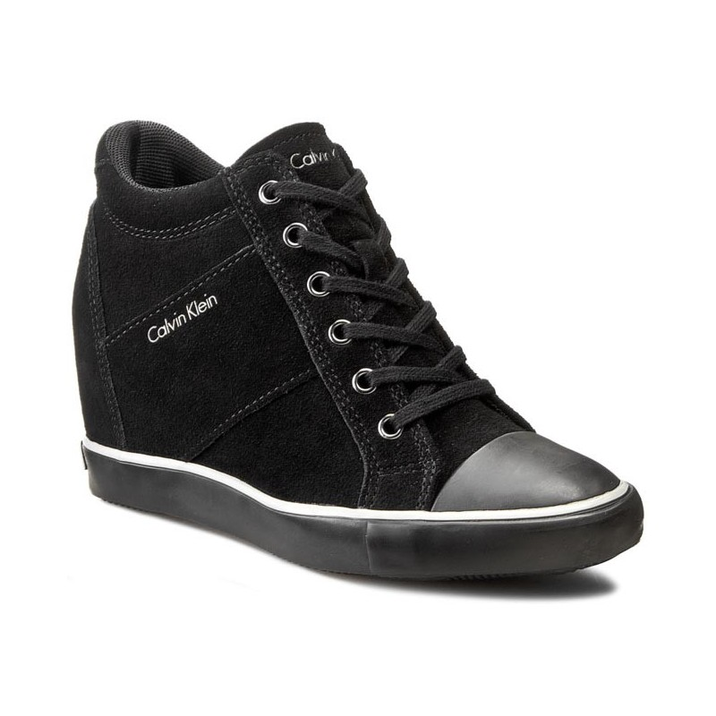 Sneaker Ritzy Klein Canvas Donna Cm Navy Zeppa 6 Calvin rFqrtwR