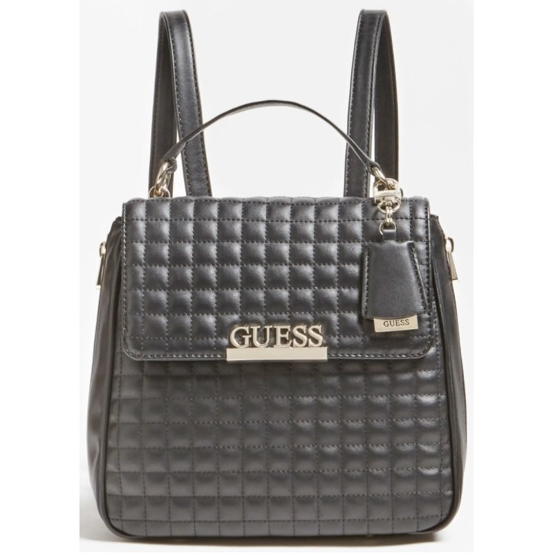 STIVALE DONNA GUESS ADDALIZ BOOT STAMPA LOGO ZIP TACCO Cm 6 LEATHER BROWN